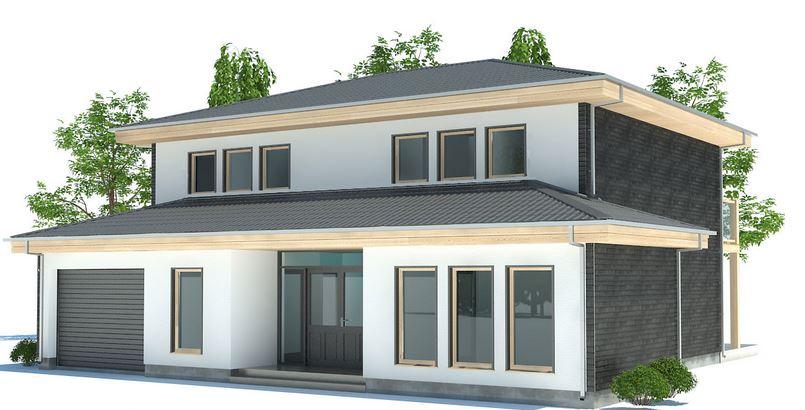 Planos de casas modernas planos de casas gratis y modernas for Modelos de techumbres