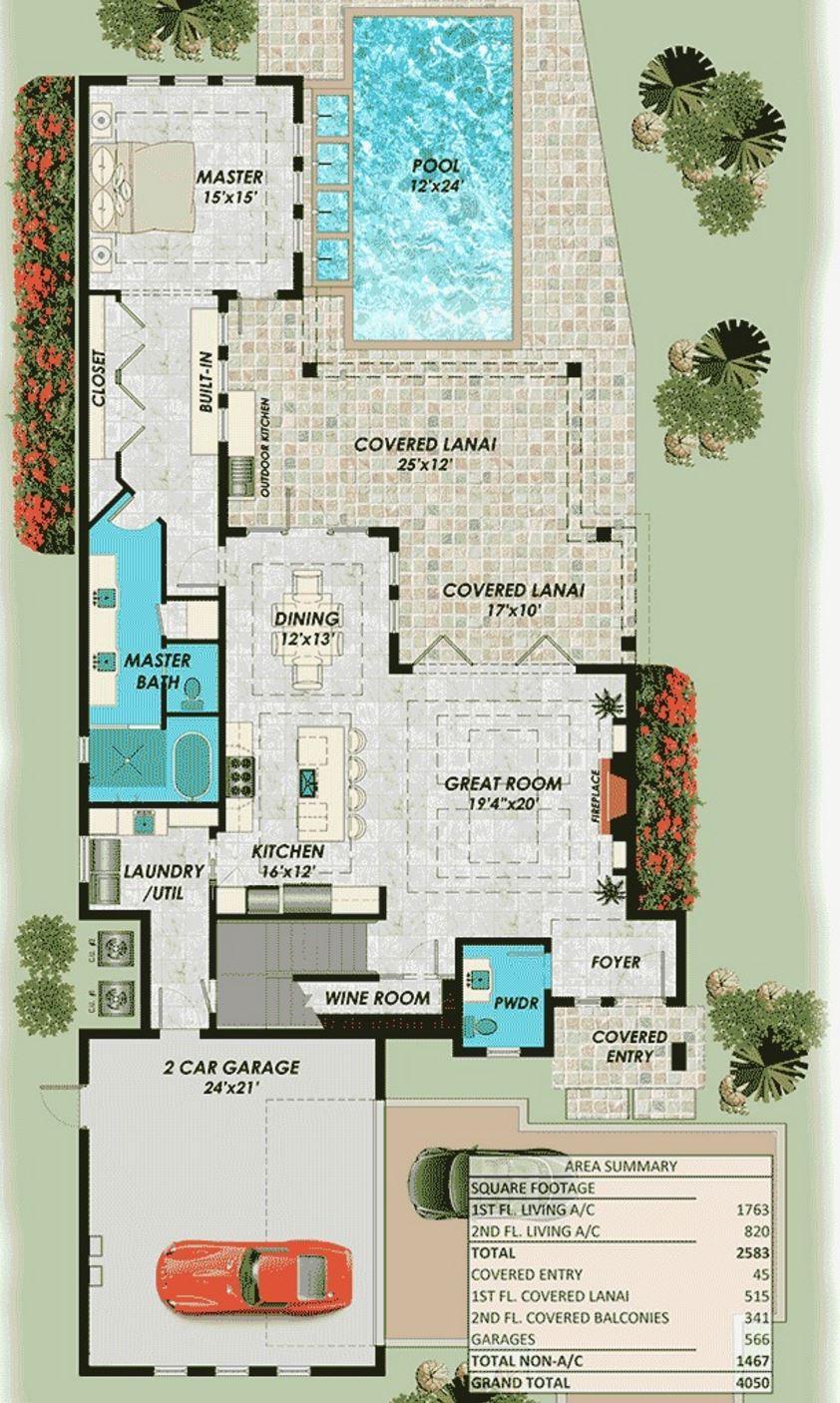 Plano de casa moderna de dos pisos planos de casas modernas for Planos planos de casas