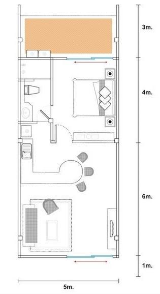 Planos de casas modernas planos de casas gratis y modernas for Planos de casas con medidas