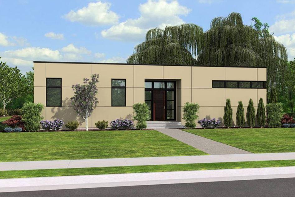 Planos de casas modernas planos de casas gratis y modernas - Casas de una sola planta ...