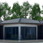 Diseño de casas modernas 2 dormitorios