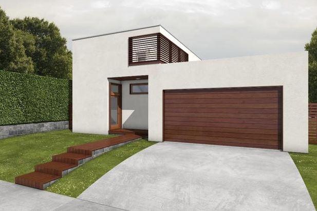 2 dormitorios planos de casas modernas for Planos de casas minimalistas de 2 pisos