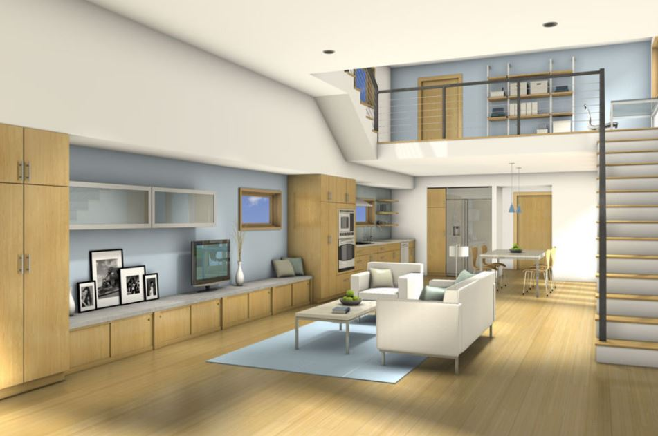2 dormitorios planos de casas modernas for Casa minimalista 2 dormitorios