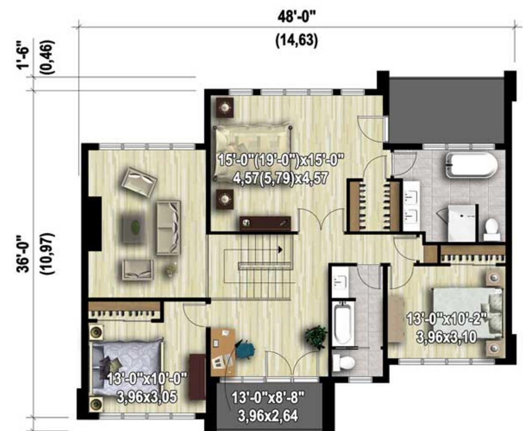 Planos de casas modernas planos de casas gratis y modernas for Planos casas modernas 1 planta
