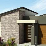 Planos de casas de 1 piso y 4 habitaciones