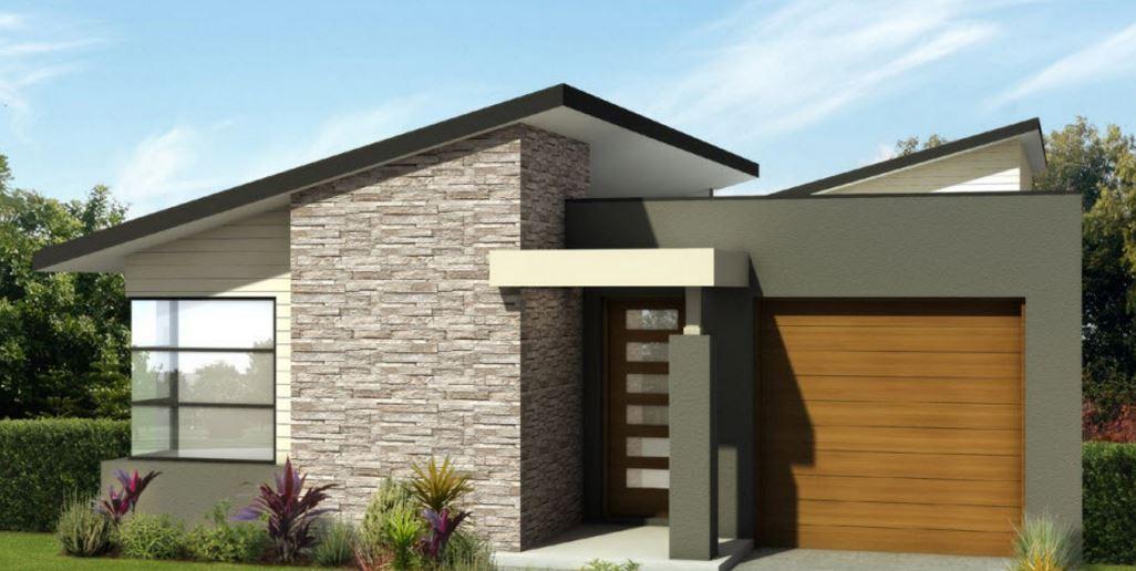 Modelos de casas modernas de 4 dormitorios planos de for Fachadas de casas de un solo piso