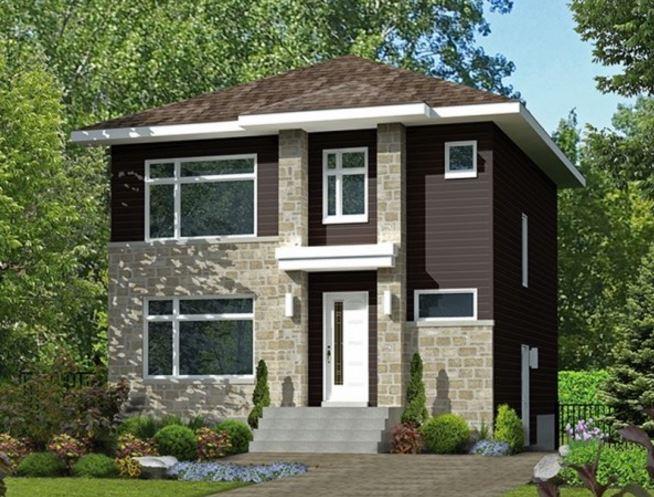 Modelos de casas de planta baja plano de casa de dos pisos primera planta la casa cuenta con - Modelos de casas de planta baja ...