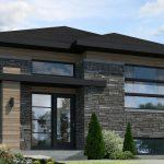 Planos de casas modernas 80m2