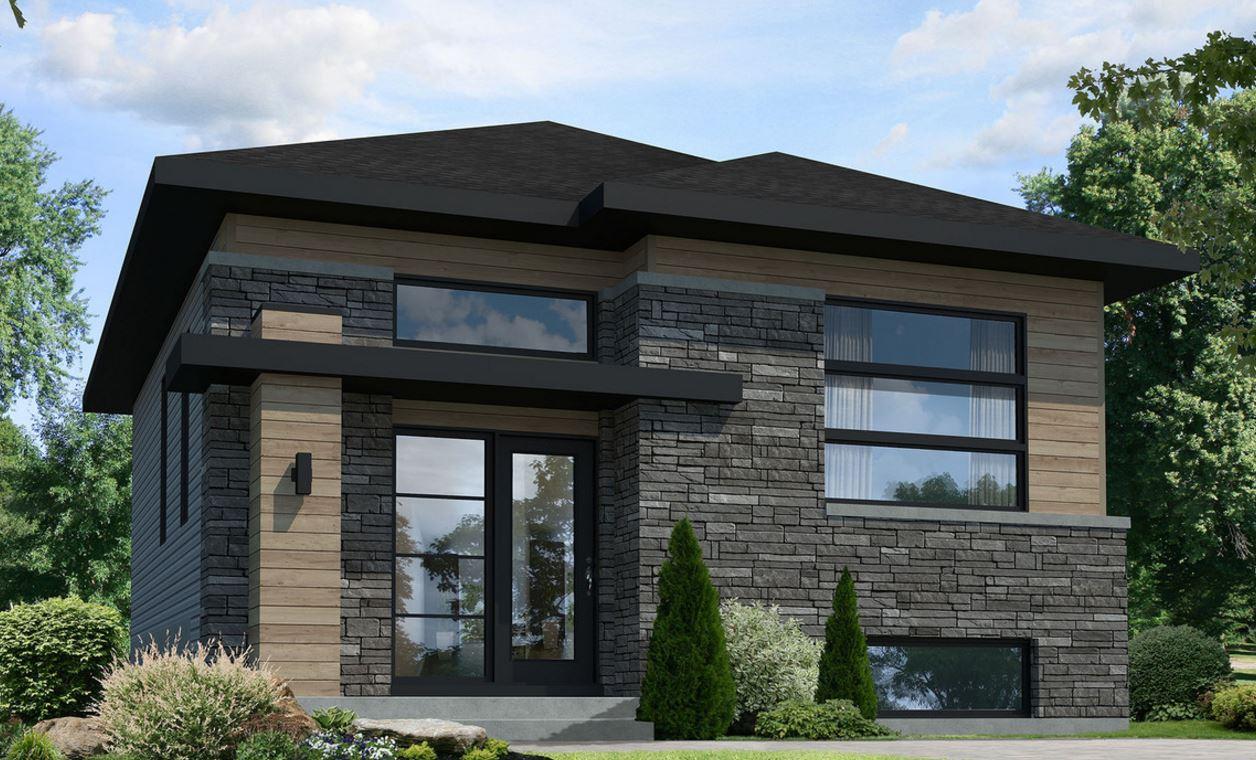 Planos de casas modernas 80m2 for Casa moderno a