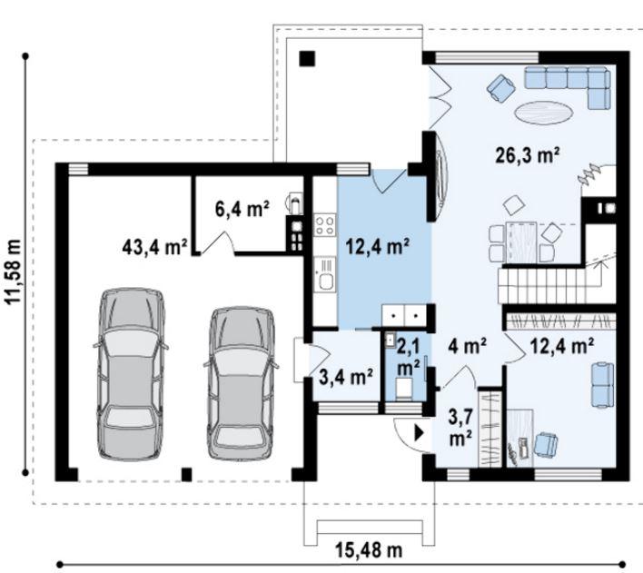 Planos de casas de dos pisos de 180 metros cuadrados for Piso 65 metros cuadrados