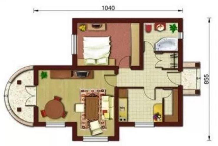 Planos de casas de 1 piso peque as - Casas de 1 piso bonitas ...