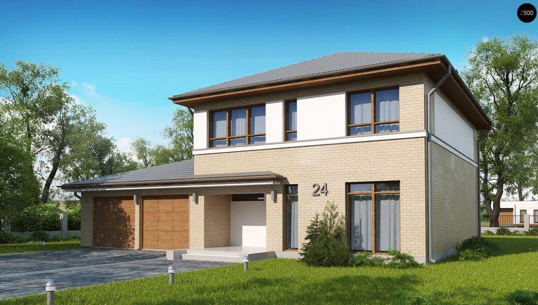 planos de casas de dos pisos de 180 metros cuadrados