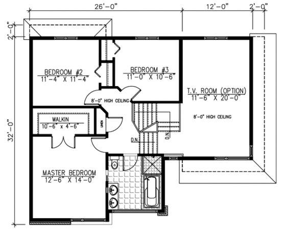 el segundo plano de casa de m de dos pisos cuenta con una cocina comedor sala de estar un bao completo un lavadero y un dormitorio en la planta