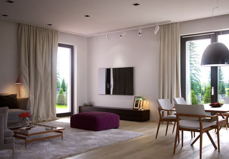 Ideas para decorar una casa moderna cool decoracion casa - Ideas para pintar una casa moderna ...