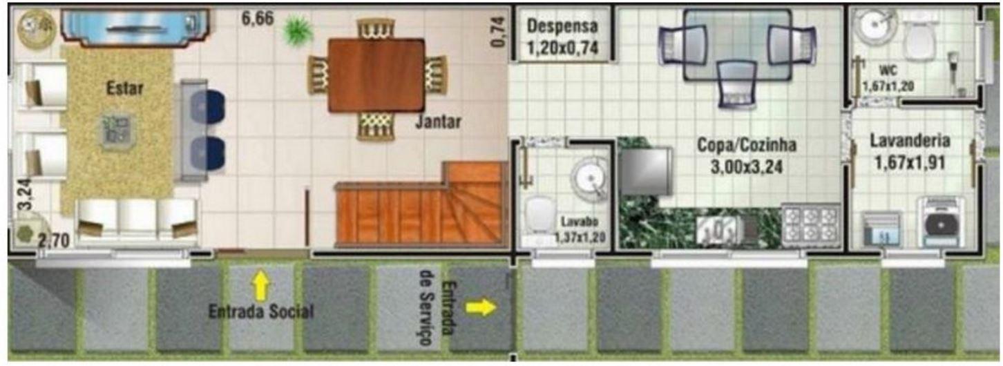 planos de casas de dos pisos de 5x10