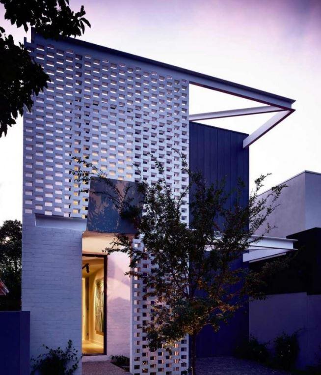 Plano de casa para terreno angosto planos de casas modernas for Fachadas de casas modernas de 6 metros