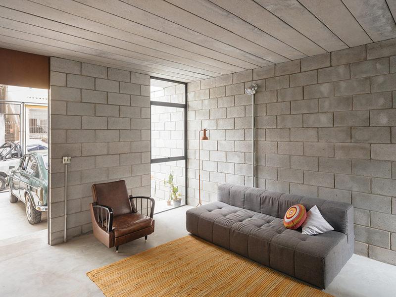 Dise o de casas de bloques de hormigon for Cuanto sale hacer una pileta de cemento