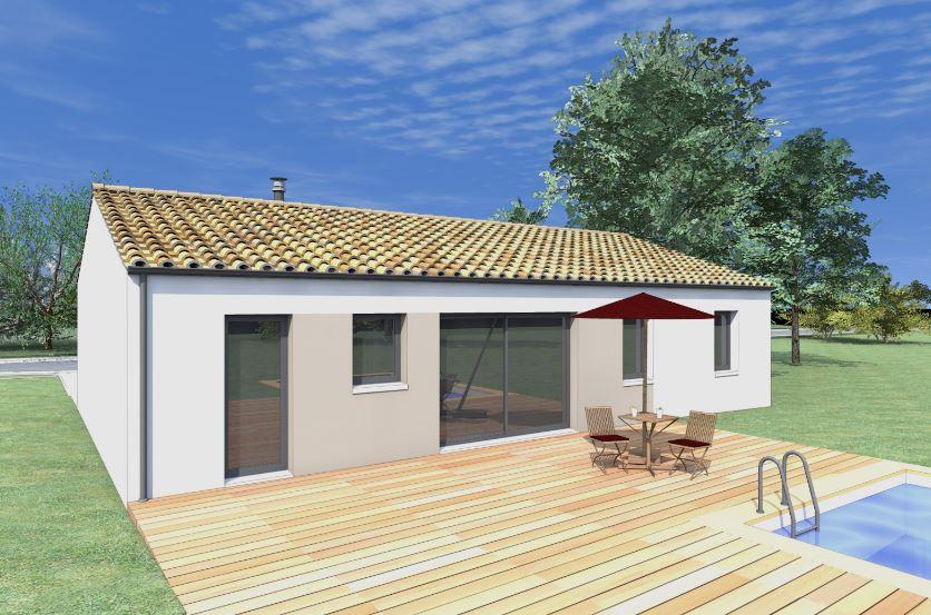 Planos de casas de 80 metros cuadrados de una planta 3 for Casas modernas recorrido virtual
