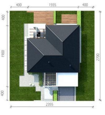 Planos de casas modernas de 1 piso y 3 habitaciones for Diferentes tipos de techos para casas