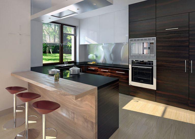 Planos de casas modernas de 1 piso y 3 habitaciones for Decoracion de casas modernas y elegantes