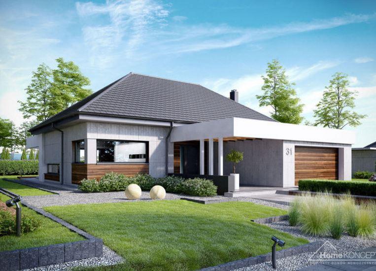 Modelos de casas modernas de un piso planos de casas Pisos para exteriores de casas modernas
