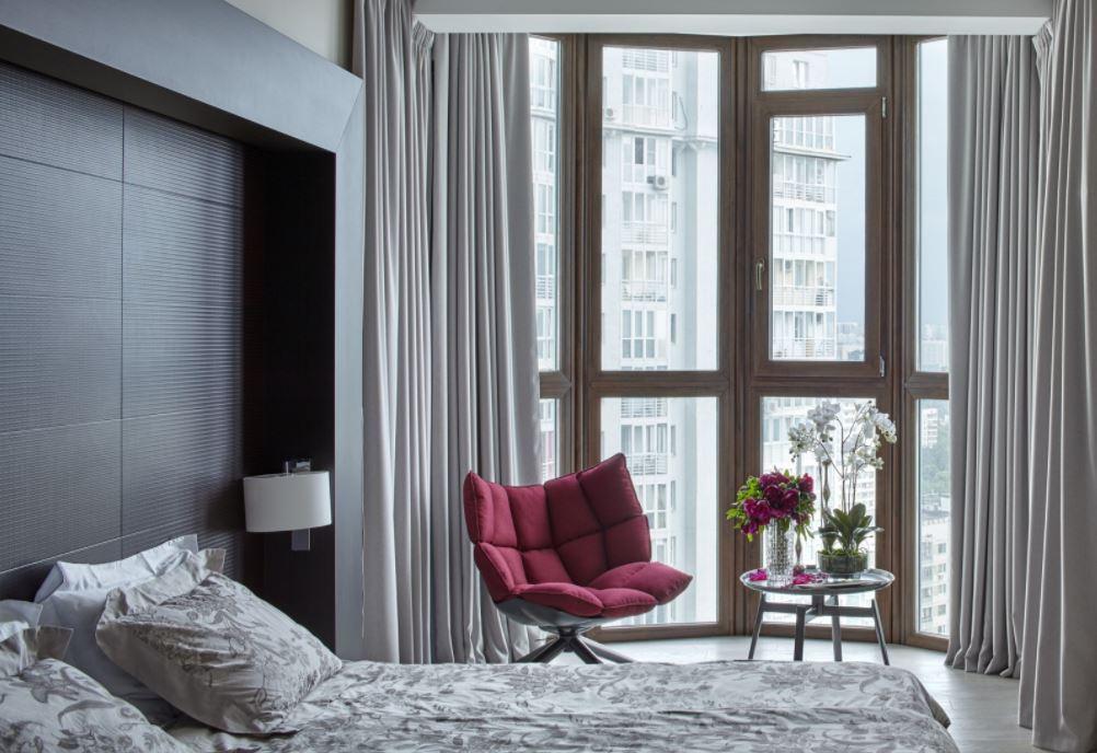 Dormitorios matrimoniales planos de casas modernas for Sillon para dormitorio matrimonial