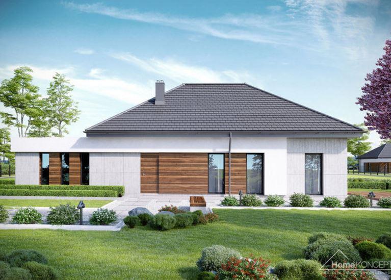 Planos de casas modernas de 1 piso y 3 habitaciones Pisos para exteriores de casas modernas