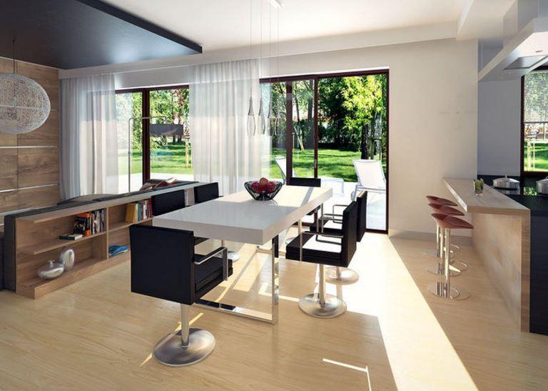 Planos de casas modernas de 1 piso y 3 habitaciones for Habitaciones modernas