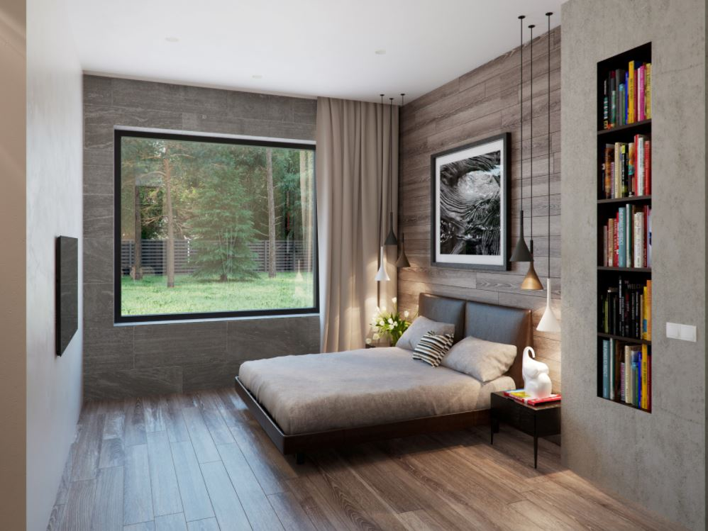 Dormitorios matrimoniales planos de casas modernas - Decoracion dormitorios pequenos matrimoniales ...