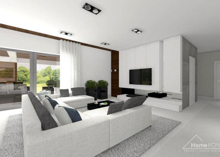 Planos de casas modernas de 1 piso y 3 habitaciones - Recibidores de casas modernas ...