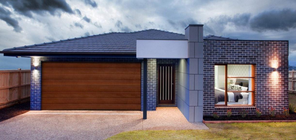 Garaje doble planos de casas modernas for Pisos decoracion garajes