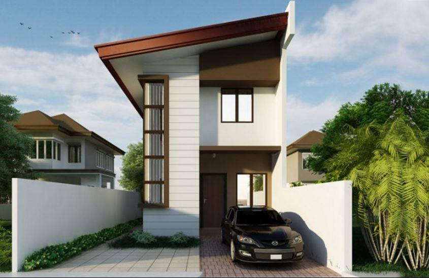 Planos de casas modernas angostas for Fachadas de casas modernas de 6 metros