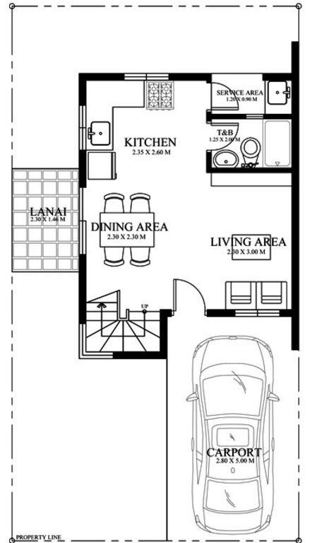 Planos de casas modernas planos de casas gratis y modernas for Casas estrechas y alargadas