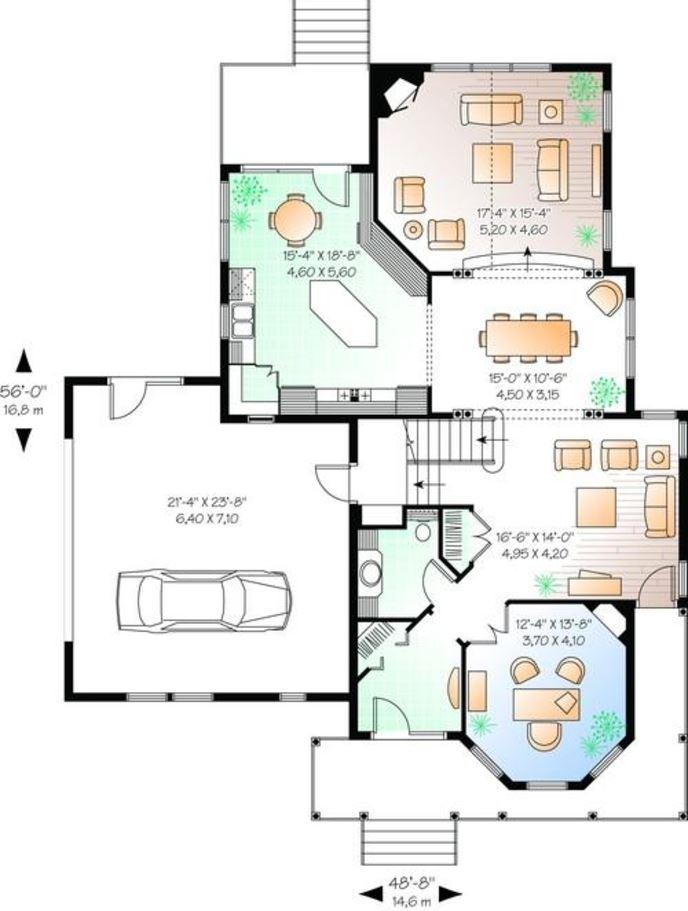 Modelos de casas de planta baja ejemplo de un plano - Modelos de casas de planta baja ...