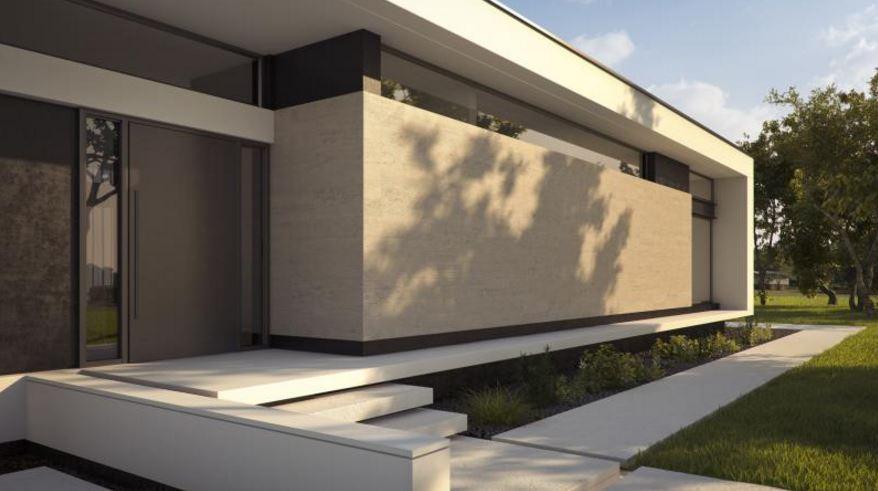 Casas minimalistas modernas planos de casas modernas for Fachada minimalista una planta
