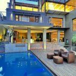 Plano de casa de 4 pisos