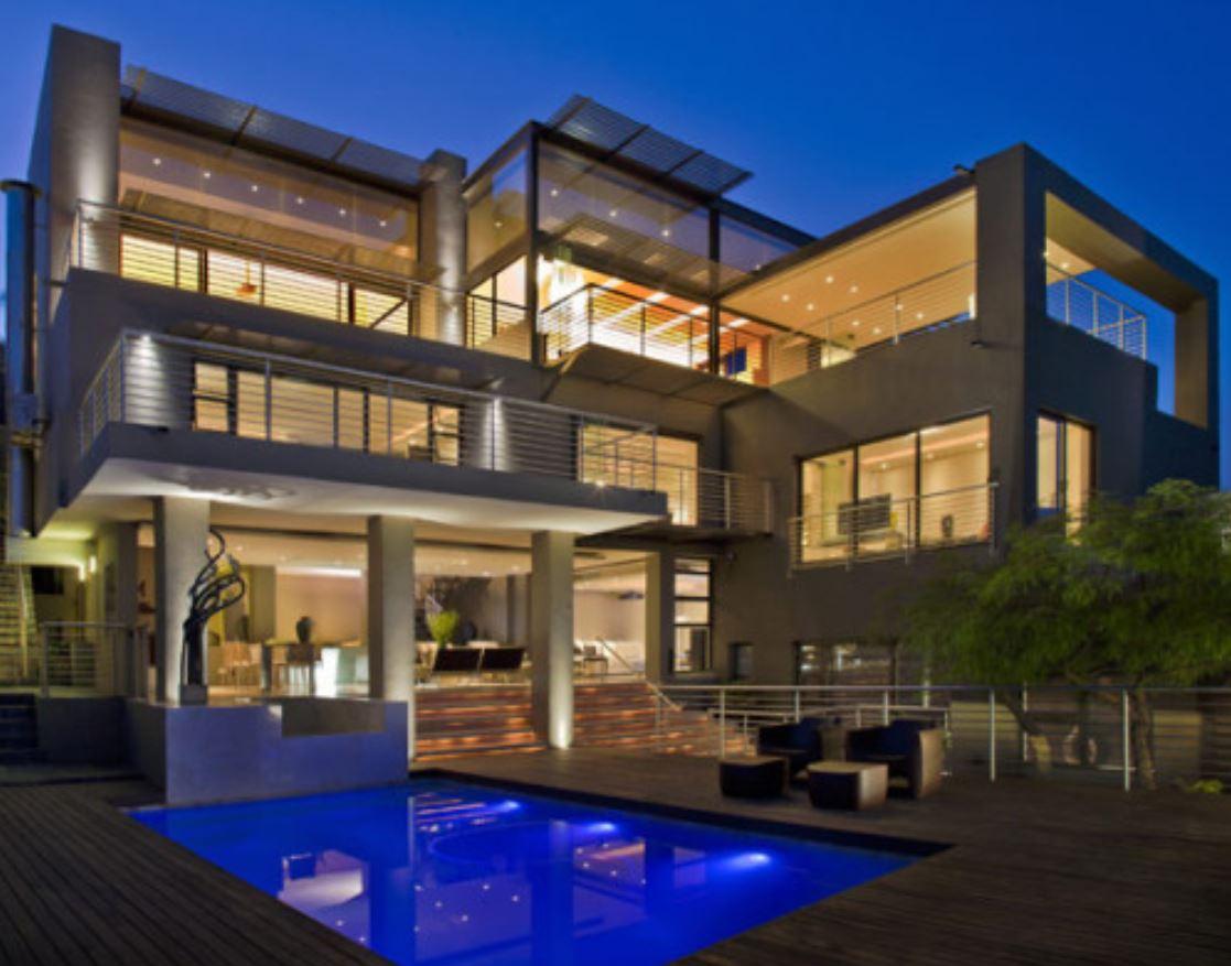 Plano de casa con subsuelo planos de casas modernas for Casa moderna y lujosa