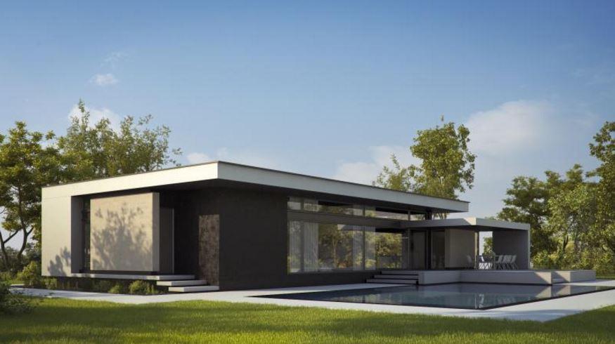 Casas minimalistas modernas planos de casas modernas for Casa minimalista con alberca