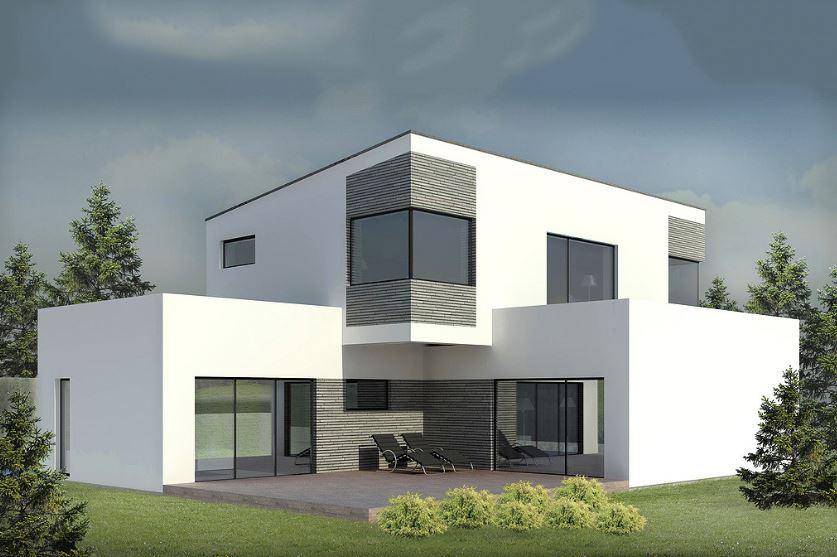 Casa minimalista de dos pisos planos de casas modernas for Pisos para casas minimalistas