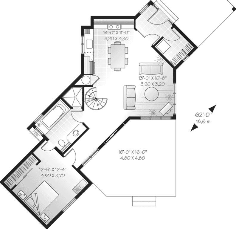2 Dormitorios Planos De Casas Modernas