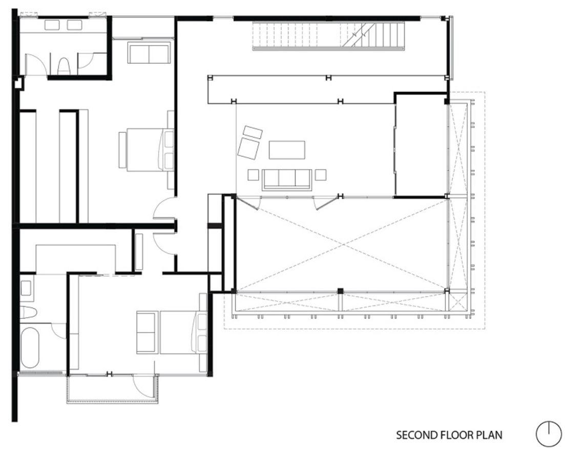 escaleras | planos de casas modernas