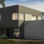 Planos de casas modernas 2 pisos 4 habitaciones