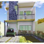 Planos de casas de 6×12 de dos plantas