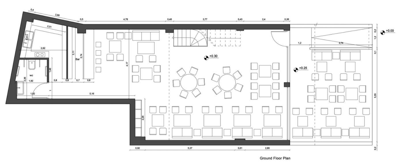 Planos de casas modernas planos de casas gratis y modernas for Plano restaurante