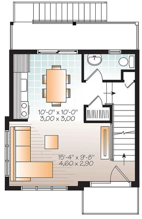 Plano De Casa Con Medidas En Metros Planos De Casas Modernas