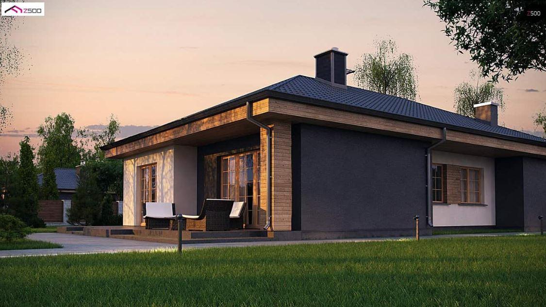 Planos de casas de 120 m2 una planta for Casa moderna 50 metros cuadrados