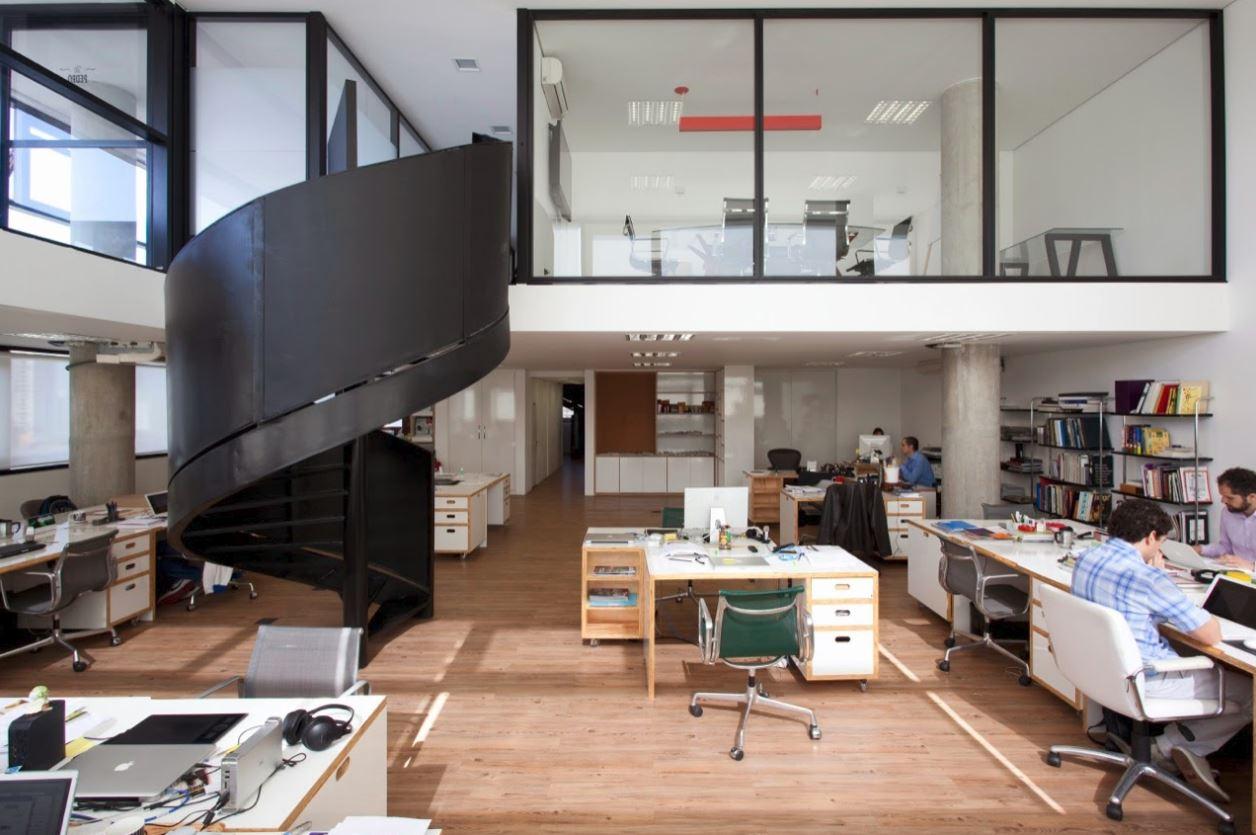 Planos arquitectonicos de oficinas modernas planos de for Plantas de oficinas modernas
