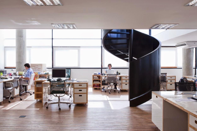 Planos de casas modernas planos de casas gratis y modernas for Planos de oficinas administrativas