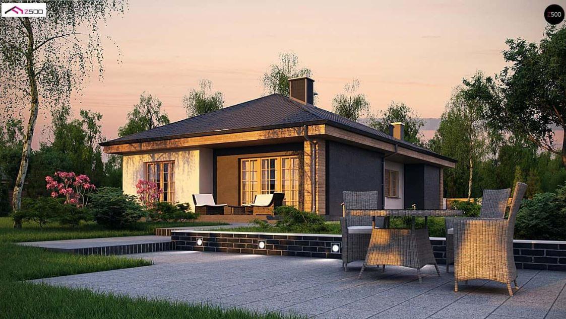 Plano de casa moderna planos de casas modernas for Casas modernas 120 metros cuadrados