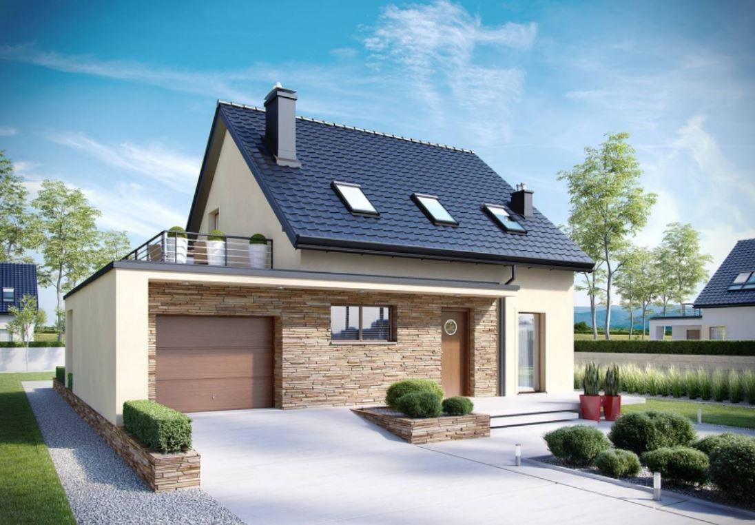 plano de casa moderna de dos pisos | planos de casas modernas